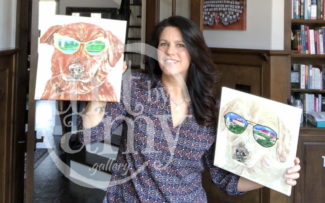 Rock Chalk Jayhawk Art Donation