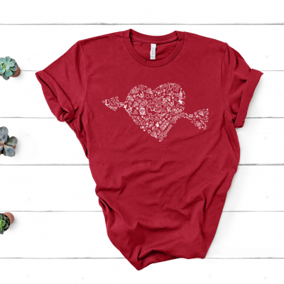 KC Chiefs Cupid Red T-Shirt